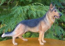 Resin Dog Figures Alsation German Shepherd Leonardo Collection Birthday Gift New