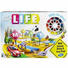 The Game Of Life Classic Edition Board Game Hasbro Family Kids Children Fun New