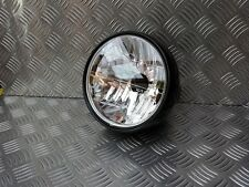 BLACK HEAD LIGHT 6  1/2in TRIUMPH, CAFE RACER CUSTOM BONNEVILLE