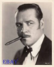 Jack Holt sexy w/cigar VINTAGE Photo