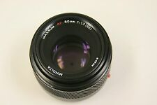 Minolta/Sony/Maxxum mount  50mm f1.7 auto focus lens with filter and end caps