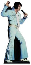 Elvis Presley The King Blue Jump Suit Cardboard Cutout-167cm Tall At your party