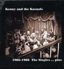 """KENNY & THE KASUALS """"1966-1968 THE SINGLES....PLUS"""" GR 2008 S/S"""