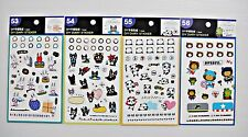 4 Sheets Diary Planner Emotion Reminder Calendar Deco Scapbook Stickers