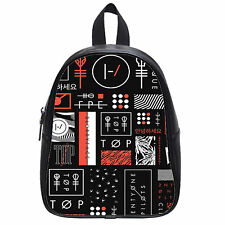 Twenty One Pilots album Custom School Bag Student Backpack Shoulder Bag(Large)