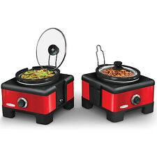 Bella LINX 2.5-quart Double Slow Cooker
