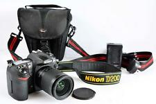 Nikon D200 DSLR with Nikon Lens LOW actuations - Excellent