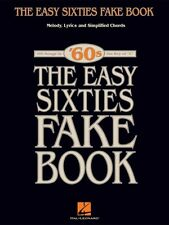 The Easy Sixties Fake Book Sheet Music Easy Fake Book NEW 000240253