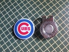 GOLF / Chicago Cubs Logo Golf Ball Marker/with Magnetic Hat Clip New!!