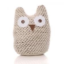 Shabby Chic Novelty Fabric Ollie Owl Bird Door Stop Weighted Doorstop 1kg Animal