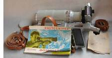 Zenit-ES FS-12 PhotoSniper Soviet Russian KMZ 35mm SLR Camera Set IN CASE EXC!
