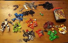 Bulk LEGO, Bionicle Action Figures Bundle (9 characters including Green Lantern)