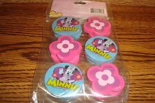 DISNEY Mickey Mouse Clubhouse MINNIE #12 Twelve Erasers  Birthday Party Favors