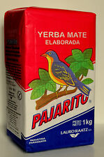 YERBA MATE PAJARITO 1KG TEA  + Free Gift Chia Seeds And UK Delivery