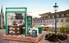 Kits Dollhouse Miniature DIY Wood Doll House With Furniture Gift Star Coffee Bar
