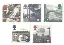 Steam trains-Railways mnh set (Great britain) 5