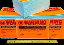 100 (USA's LOWEST PRICE!!) NO PARKING VIOLATIONS VIOLATION WARN STICKER STICKERS
