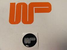 Classic Mini-Wood & Pickett auto adhesivo con el logotipo de 27mm WPL27