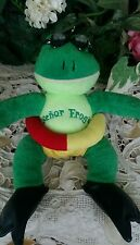 Senior Frogs plush frog stuffed animal suction cups for window lifesaver/goggles