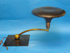 VINTAGE M.G. WHEELER SIGHT LIGHT MID-CENTURY INDUSTRIAL DESIGN TABLE LAMP WORKS