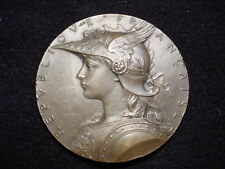 France, 1902-03 Exhibition At Hanoi Medal By Louis Oscar Roty, Paris Mint