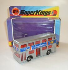Matchbox Superkings, K-15, The Londoner Bus, Superb.