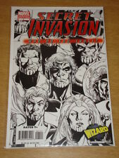 SECRET INVASION WHO DO YOU TRUST? #1 MARVEL COMICS VARIANT EDITION COVER WIZARD
