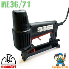 Maestri ME3G/71 Series Professional  Electric Upholstery Tacker / Stapler