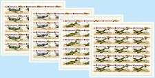 RUSSIA 2011 Full Sheets Weapon of the Victory. Front aviation MNH