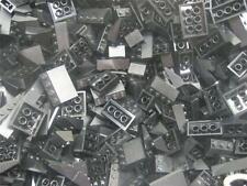 50 LEGO PIECES BLACK Roof Inclines Slopes Bricks bulk lot wedge house city town
