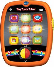 Vtech Baby Tiny Touch Tablet learn ABCs Through a Happy Sing-along Song