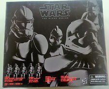 "Star Wars Black Series 4 Paquete de 6"" Figuras De Acción Exclusivo EE. UU. Stormtrooper Nuevo"