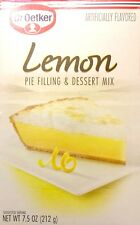 Dr. Oetker Lemon Pie Filling & Dessert Mix (Pack of 3) 7.5 oz Boxes