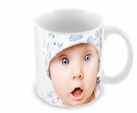 Your Photo On A Blank Mug Add Your Own Personalised Text