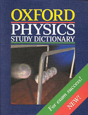 Oxford Physics Study Dictionary (Paperback)