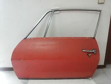 Lancia Fulvia zagato aluminum left door complete of all the accessories