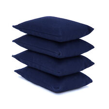4 Pack Navy Bean Bags Children Kids Play PE Garden Games Juggling Sports Day