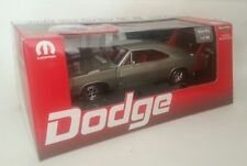 ERTL 1/18 1969 DODGE DAYTONA SILVER POLY WITH RED WING 1 OF 500