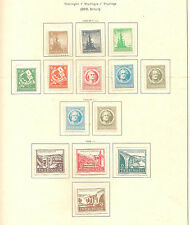 Thueringen 1945 aus altem Albumblatt