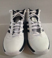 ADIDAS Isolation 2 Basketball Shoes White Black Mens 10M  Worn 2 Times