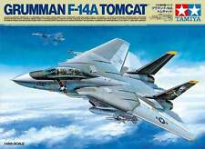 1/48 Tamiya Grumman F-14A Tomcat #61114 w/squadron F-14 In Action Book #206- NEW