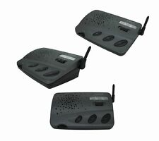 Best Calford Intercom 3 Channel FM Genuine Wireless for Office Home 3 Units Set