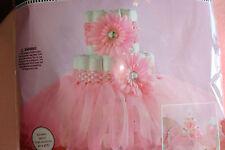Pink Tutu Diaper Cake Kit; Ballerina Diaper Cake Kit; Girls Baby shower decor