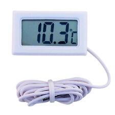 Weiß LCD-Digital-Thermometer für Kühlschrank / Aquarium / Fish Tank Temperatur
