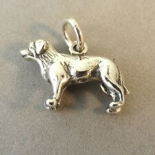 .925 Sterling Silver 3-D LABRADOR RETRIEVER CHARM NEW Lab Dog Pendant 925 DG39
