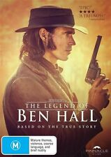 Legend Of Ben Hall, The (DVD, 2017) (Region 4) Aussie Release