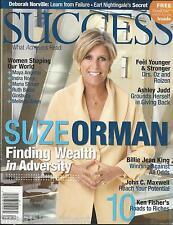 Success magazine Suze Orman Ashley Judd Billie Jean King John C. Maxwell Fisher