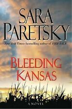 BLEEDING KANSAS Sara Paretsky 1st Edition 2008 Mystery Hardcover & Dust Jacket