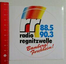 Aufkleber/Sticker: rr Radio regnitzwelle - Bamberg / Forchheim (150816193)