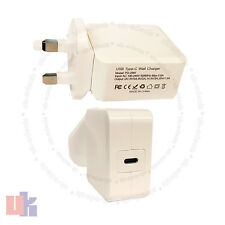 "Tipo C USB-C AC cargador adaptador de corriente para Apple MacBook 12"" A1540 MJ262LL/A uked"